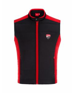 ΑΜΑΝΙΚΟ ΜΠΟΥΦΑΝ BODY WARMER BLACK / RED 1966003| DUCATI RACING COLLECTION