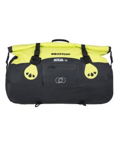 ΣΑΚΟΣ AQUA T-30 ROLL BAG BLACK/  FLUO OL471| OXFORD
