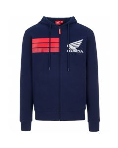 HOODIE HONDA RED STRIPES BLUE 2028001 | HONDA