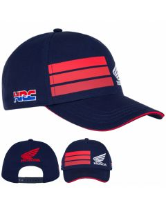 ΚΑΠΕΛΟ RED STRIPES BASEBALL CAP NAVY BLUE 2048001| HONDA