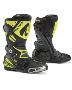 ΜΠΟΤΕΣ ICE PRO BLACK/FLUO YELLOW| FORMA
