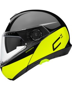 ΚΡΑΝΟΣ FLIP-UP C4 PRO SWIPE YELLOW| SCHUBERTH