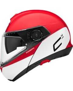 ΚΡΑΝΟΣ FLIP-UP C4 PRO SWIPE RED| SCHUBERTH