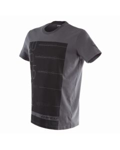 T-SHIRT LEAN-ANGLE ANTHRACITE 1896766| DAINESE