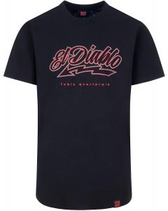 T-SHIRT EL DIABLO BLACK/RED 2033808 | FABIO QUARTARARO