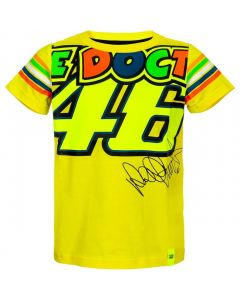 T-SHIRT ΠΑΙΔΙΚΟ THE DOCTOR VR46 KID YELLOW 1896814| DAINESE