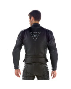 ΜΠΟΥΦΑΝ NEWSAN LEATHER BLACK | DAINESE