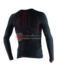 ΙΣΟΘΕΡΜΙΚΗ ΜΠΛΟΥΖΑ D-CORE THERMO TEE LS BLACK/RED 1915932 | DAINESE