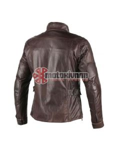 ΔΕΡΜΑΤΙΝΟ ΜΠΟΥΦΑΝ RICHARD LEATHER JACKET DARK BROWN | DAINESE
