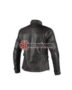 ΔΕΡΜΑΤΙΝΟ ΜΠΟΥΦΑΝ RICHARD LEATHER JACKET BLACK | DAINESE