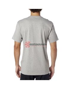 T-SHIRT BOXED OUT SS TEE HEATHER GREY | FOX