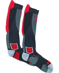 ΚΑΛΤΣΕΣ D-CORE HIGH SOCK BLACK/RED 1915954 | DAINESE|