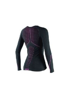 ΙΣΟΘΕΡΜΙΚΗ ΜΠΛΟΥΖΑ D-CORE THERMO TEE LS LADY BLACK/FUCHSIA 2915931 | DAINESE