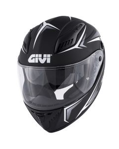 ΚΡΑΝΟΣ H40.5 X-FIBER WHITE/MATT BLACK | GIVI
