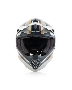 ΠΑΙΔΙΚΟ ΚΡΑΝΟΣ MX STEEL JUNIOR HELMET GOLD/GREY 23425.333 | ACERBIS