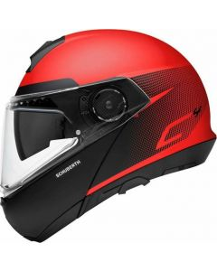 ΚΡΑΝΟΣ FLIP-UP C4 RESONANCE RED | SCHUBERTH