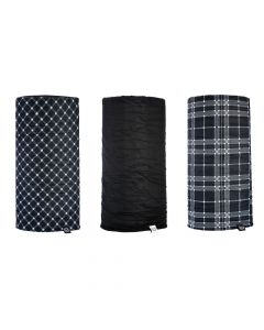 ΛΑΙΜΟΥΔΙΕΡΑ NW108 BLACK/ WHITE TARTAN 3-PACK| OXFORD