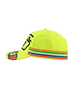 ΚΑΠΕΛΟ ΠΑΙΔΙΚΟ VR46 STRIPES KID CAP FLUO-YELLOW 1990061| DAINESE