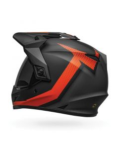 ΚΡΑΝΟΣ MX-9 ADVENTURE MIPS SWITCHBACK ORANGE/BLACK MATT | BELL
