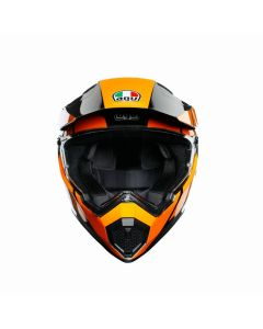 ΚΡΑΝΟΣ AX-9 DUAL MULTI TRAIL GUNMETAL/ORANGE MPINLOCK | AGV