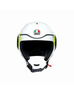 ΚΡΑΝΟΣ JET ORBYT SUNSET WHITE/YELLOW FLUO| AGV