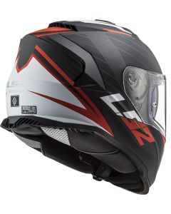 ΚΡΑΝΟΣ FF800 STORM NERVE MATT BLACK RED| LS2