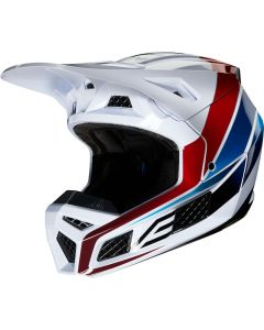ΚΡΑΝΟΣ V3 DURVEN HELMET 23945-922 MUL WHITE/RED/BLUE/BLACK | FOX