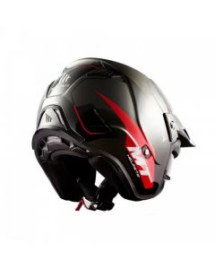 ΚΡΑΝΟΣ DISTRICT SV SUMMIT GLOSS BLACK/ RED| MT