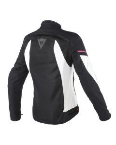 ΓΥΝΑΙΚΕΙΟ ΜΠΟΥΦΑΝ AIR FRAME D1 LADY TEX JACKET BLACK/VAPOROUS GRAY/ FUXIA 2735196| DAINESE