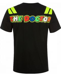 T-SHIRT THE DOCTOR BLACK VRMTS351304| VR46