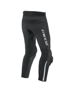 ΔΕΡΜΑΤΙΝΟ ΠΑΝΤΕΛΟΝΙ ALPHA LEATHER PANTS BLACK/BLACK/BLACK MATT 1553713| DAINESE