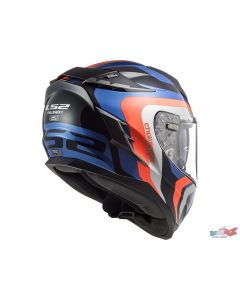 ΚΡΑΝΟΣ CHALLENGER FF327 GALACTIC BLUE/FLUO ORANGE| LS2