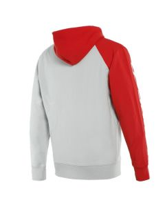 ΖΑΚΕΤΑ ΦΟΥΤΕΡ FULL-ZIP PADDOCK SWEATSHIRT GLACIER-GRAY/LAVA-RED/BLACK 1896834| DAINESE