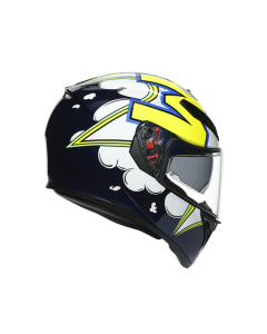 ΚΡΑΝΟΣ K3 SV MULTI BUBBLE BLUE/WHITE/YELLOW FLUO MPLK| AGV