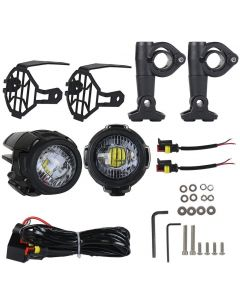 ΠΡΟΒΟΛΕΙΣ ΟΜΙΧΛΗΣ LED UNIVERSAL FOG LIGHT LED 000.1454 | COSMO ACCESSORIES