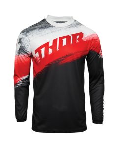 ΜΠΛΟΥΖΑ MX SECTOR VAPOR RED/BLACK JERSEY| THOR