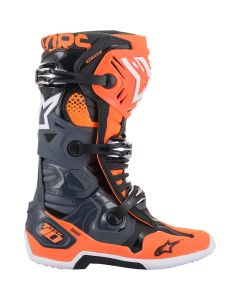 ΜΠΟΤΕΣ MX TECH 10 BOOTS GRAY/ORANGE/BLACK/WHITE 2010020-9040| ALPINESTARS