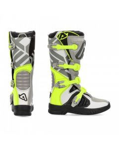 ΜΠΟΤΕΣ MX X-TEAM BOOTS GREY/YELLOW 22999.290| ACERBIS