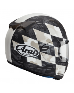ΚΡΑΝΟΣ PROFILE-V DESIGN PATCH WHITE| ARAI
