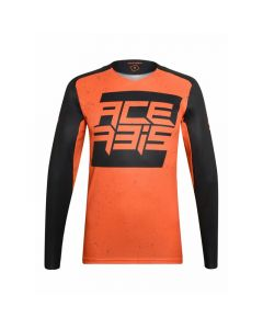 ΜΠΛΟΥΖΑ MX ARCTURIAN BLACK/ORANGE 23318.313| ACERBIS