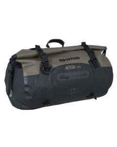 ΣΑΚΟΣ ΟΥΡΑΣ AQUA T-50 ROLL BAG KHAKI /BLACK OL402| OXFORD