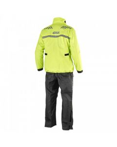 AΔΙΑΒΡΟΧΟ ΣΕΤ CRS02 BLACK / YELLOW FLUO   GIVI