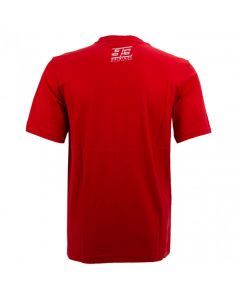 T-SHIRT WAFFLE PRINTED 93 RED 2033016| MARC MARQUEZ