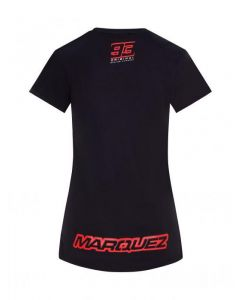 T-SHIRT LADY 93 GRAPHIC ANTHRACITE GREY 2033020| MARC MARQUEZ