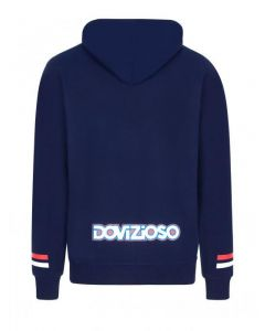 HOODIE 04 RED / BLUE 2022201| ANDREA DOVIZIOSO