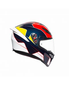 ΚΡΑΝΟΣ K1 PITLANE BLUE / RED / YELLOW | AGV