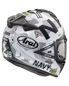 ΚΡΑΝΟΣ CHASER-X DESIGN NAVY WHITE| ARAI