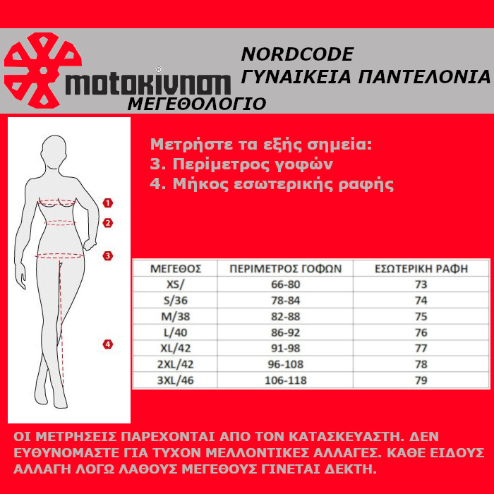 Nordcode/Nordcap Γυναικεία Παντελόνια