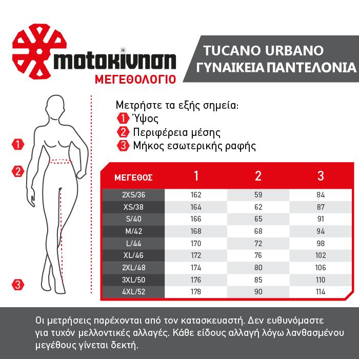 Tucano Urbano Γυναικεία Παντελονια