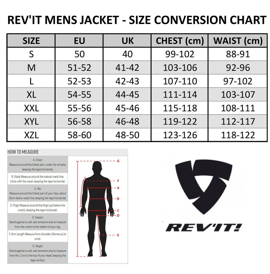 REV'IT MENS JACKET